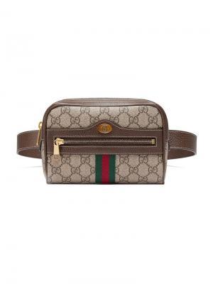 2c819359009c Маленькая поясная сумка Ophidia GG Supreme Gucci. Цвет: нейтральные цвета