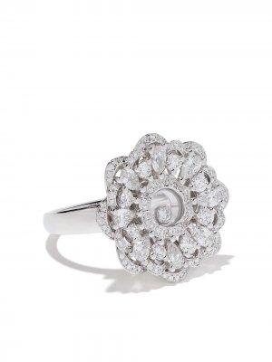 Кольцо Happy Precious из белого золота с бриллиантами Chopard. Цвет: белый