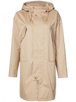 Пальто с капюшоном A.P.C.. Цвет: коричневый