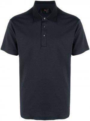 Рубашка поло с короткими рукавами Peuterey. Цвет: синий
