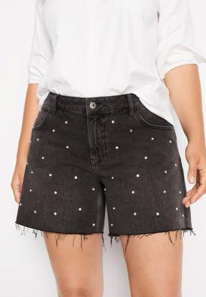Шорты джинсовые Violeta by Mango. Цвет: серый
