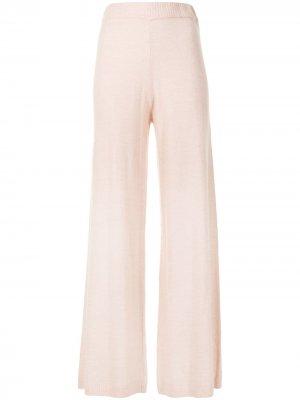 Расклешенные брюки Igor The Upside. Цвет: розовый