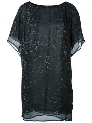 Платье Eon Minimarket. Цвет: черный