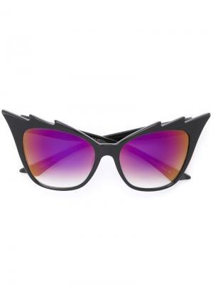 Солнцезащитные очки Hurricane Dita Eyewear. Цвет: черный