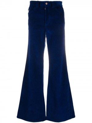 Расклешенные джинсы с нашивкой-логотипом Marc Jacobs. Цвет: синий