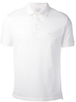 Рубашка-поло с логотипом на груди Ballantyne. Цвет: белый