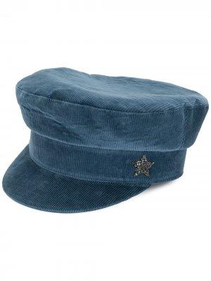 Вельветовая кепка Lorena Antoniazzi. Цвет: синий
