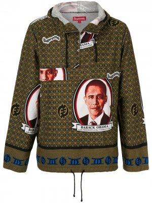 Анорак Obama Supreme. Цвет: коричневый