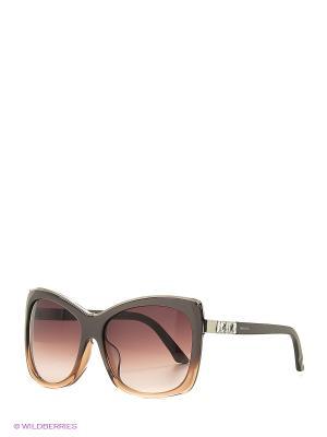 Солнцезащитные очки SK 0090-F 38F Swarovski. Цвет: бежевый