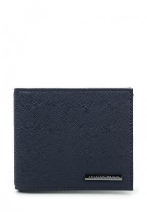 Портмоне Armani Jeans. Цвет: синий