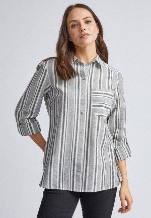 Рубашка Dorothy Perkins. Цвет: серый