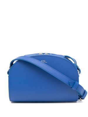 Сумка через плечо Demi-Lune A.P.C.. Цвет: синий
