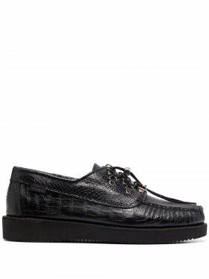 Туфли дерби на шнуровке Sebago. Цвет: черный