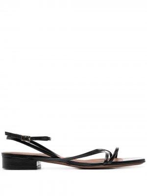 LAutre Chose сандалии с ремешками L'Autre. Цвет: черный
