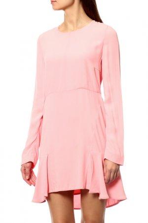 Платье Marni. Цвет: бордовый
