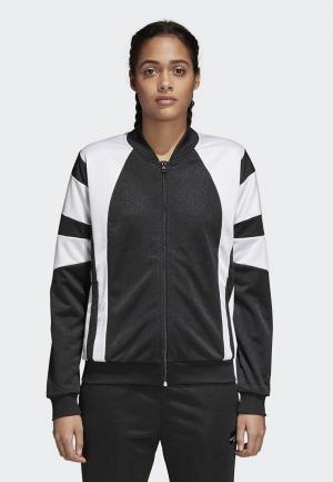 Олимпийка adidas Originals. Цвет: черный