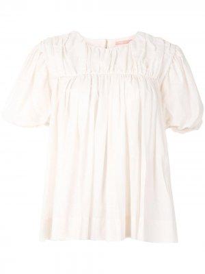 Блузка No Turning Back Maggie Marilyn. Цвет: розовый