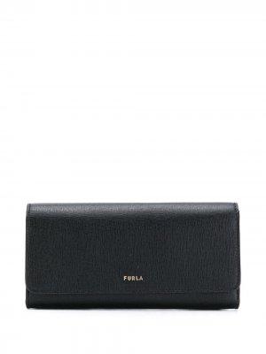 Бумажник Next Furla. Цвет: черный