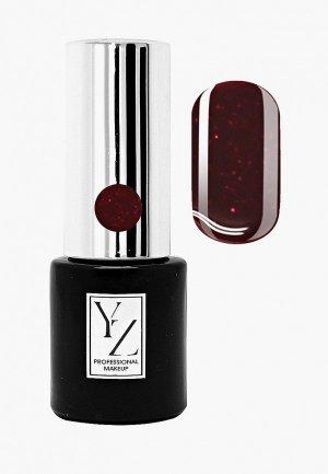 Гель-лак для ногтей Yllozure. Цвет: бордовый