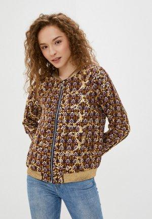 Куртка Softy. Цвет: разноцветный