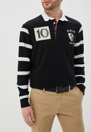 Поло Polo Ralph Lauren. Цвет: черный