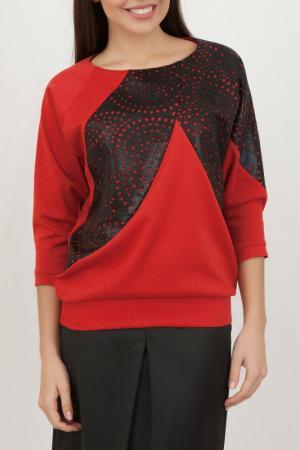 Блуза Chateau Fleur. Цвет: красный