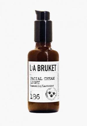 Крем для лица La Bruket. Цвет: белый