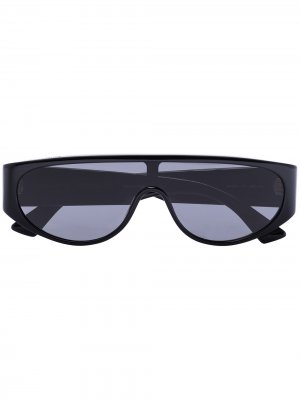 Солнцезащитные очки Bottega Veneta Eyewear. Цвет: черный