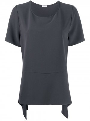 Блузка Pirate с асимметричным подолом P.A.R.O.S.H.. Цвет: серый