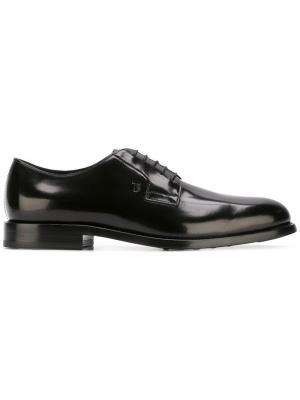 Tods туфли дерби Tod's. Цвет: черный