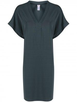 Пляжное платье Tali Eres. Цвет: синий