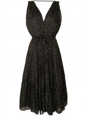Платье миди Balsan Mes Demoiselles. Цвет: черный