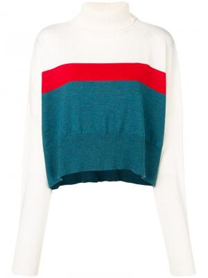 Loose fitted sweater Marios. Цвет: белый