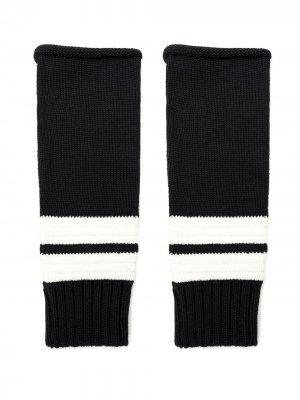 Перчатки-митенки Ruppert Andrea Bogosian. Цвет: черный
