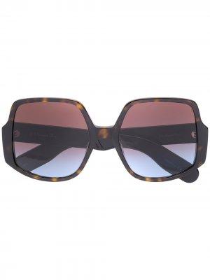 Солнцезащитные очки Insideout Dior Eyewear. Цвет: коричневый