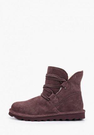 Ботинки Bearpaw. Цвет: фиолетовый