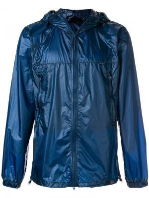 Zipped hooded jacket Canada Goose. Цвет: синий