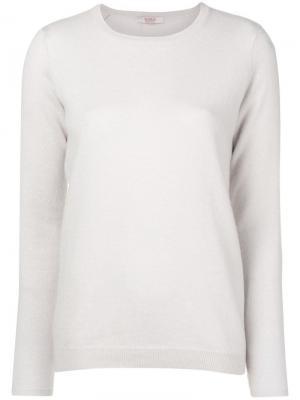 Cashmere elbow patch sweater Liska. Цвет: серый