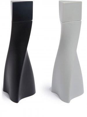 Набор мельниц Duo для соли и перца Zaha Hadid Design. Цвет: черный