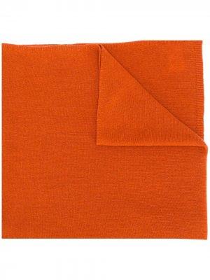 Кашемировый шарф Stola Liska. Цвет: оранжевый