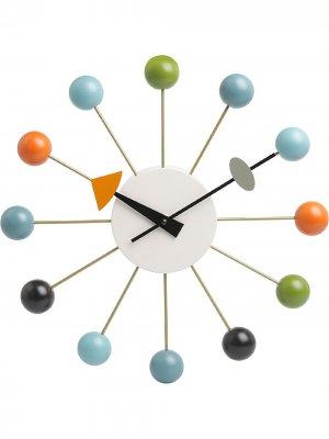 Настенные часы Ball Vitra. Цвет: синий