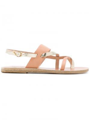 Сандалии Alethea Ancient Greek Sandals. Цвет: нейтральные цвета