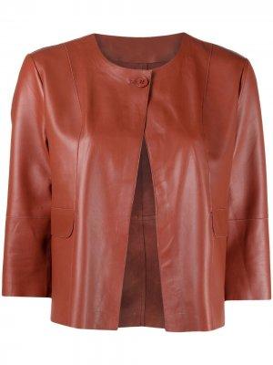 Укороченная куртка S.W.O.R.D 6.6.44. Цвет: коричневый