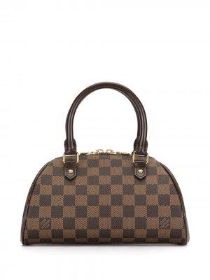 Мини-сумка Rivera 2007-го года Louis Vuitton. Цвет: коричневый