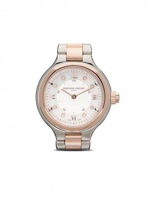 Наручные часы Classics Delight 28 Frédérique Constant. Цвет: серебристый, guilloché decoration