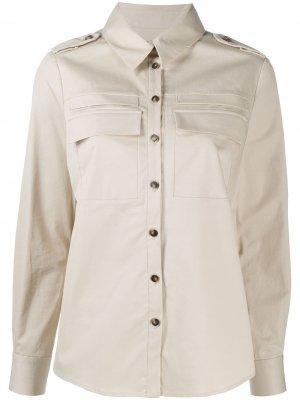 Рубашка Oasis на пуговицах Ba&Sh. Цвет: нейтральные цвета