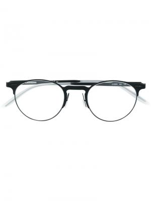 Round glasses Carrera. Цвет: черный