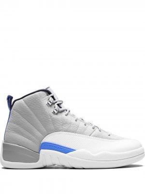 Кроссовки Air  12 Retro Jordan. Цвет: серый