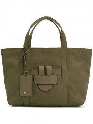 Сумка-тоут Simple Bag M Tila March. Цвет: зеленый
