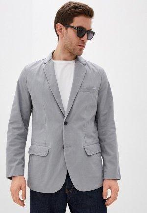 Пиджак Gap. Цвет: серый